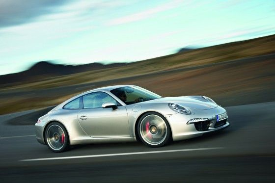 2012-Porsche-911-Carrera-991-Silver-Side
