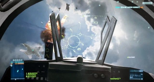 a dogfight shot from the caspian border gameplay trailer