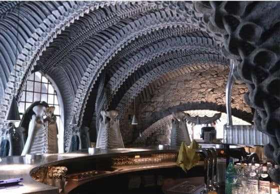Museum H.R. Giger in St. Germain Switzerland