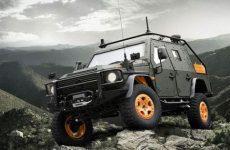 Mercedes Benz G-Wagon light armored patrol vehicle 6.x