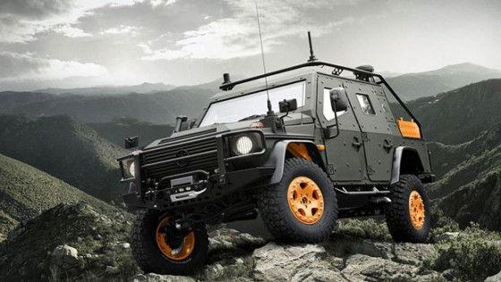 One tough ride mercedes benz g wagon lapv 6 x for Mercedes benz g wagon lapv 6 x