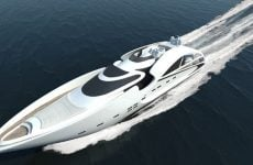 3D Rendering of Audax 130 Yacht