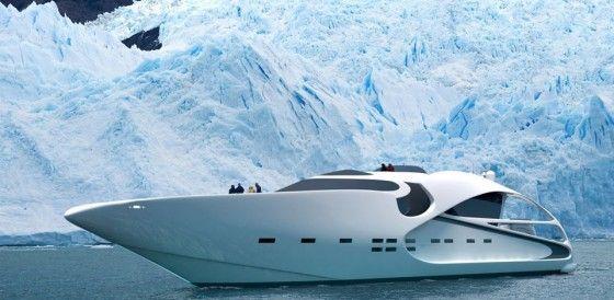 130 foot Audax yacht