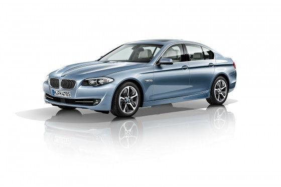BMW ActiveHybrid 5 Series Sedan three quarters view