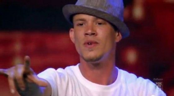Christ Rene perfomrs Young Homie on The X Factor