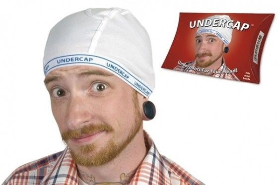 Undercap - the underwear for your head