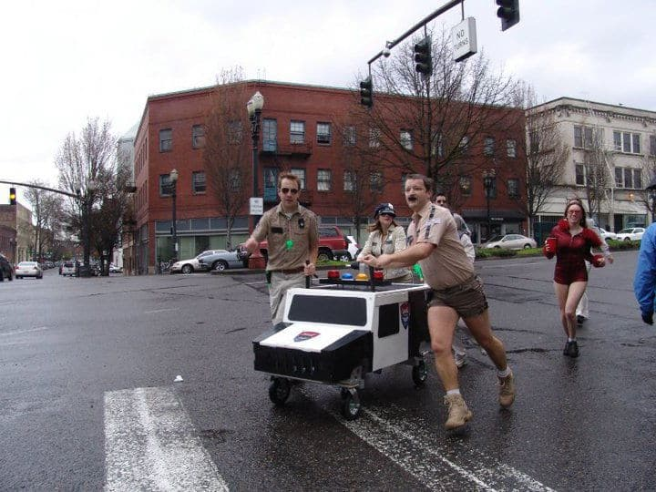 reno 911 racing shopping cart