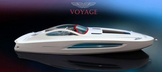 Yacht inspired by Aston Martin