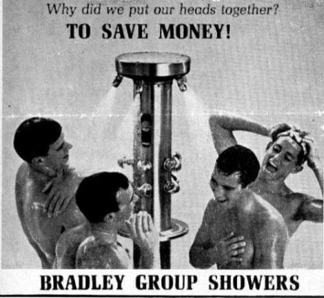 Bradley Group Showers Ad