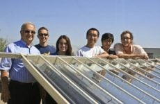 UC Merced students develop efficient solar thermal system