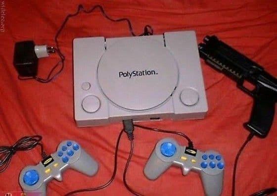 Playstation copy cat PolyStation