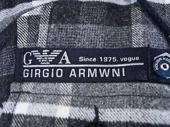 Girgio Armwni knock off