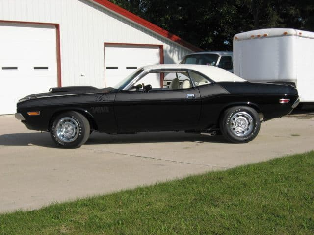 special order 1970 Dodge Challenger T/A with positrac