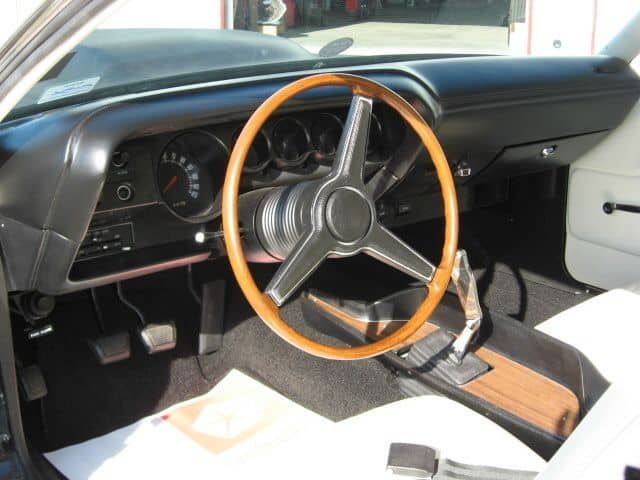 special order 1970 Dodge Challenger T/A wheel