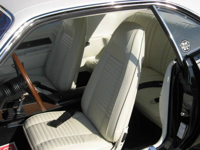 special order 1970 Dodge Challenger T/A interior