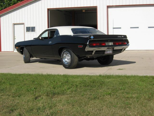 special order 1970 Dodge Challenger T/A rear view