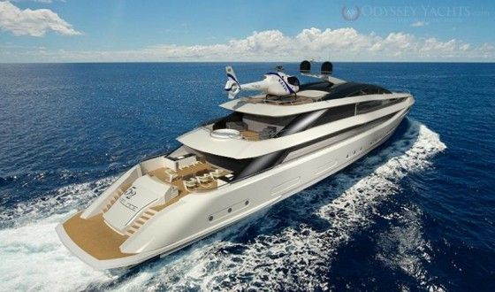 190 foot Veloce yacht