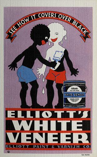 Racist White Veneer Ad