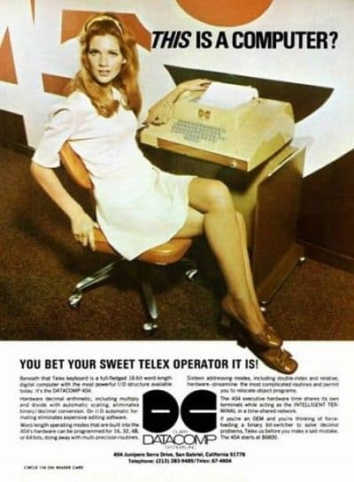 Sexist 50s Ad