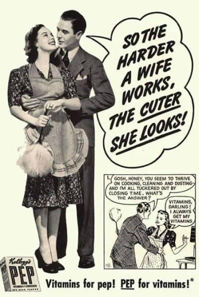Sexist 50s Advertisement