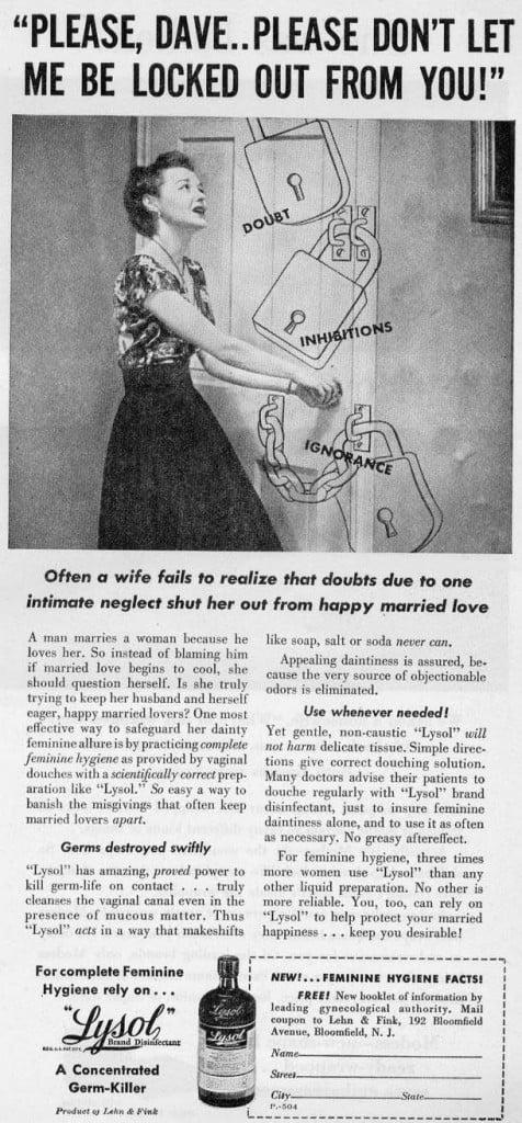 Sexist 50s Advertisment
