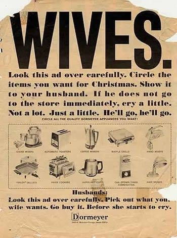 Sexist Ad From the 50s