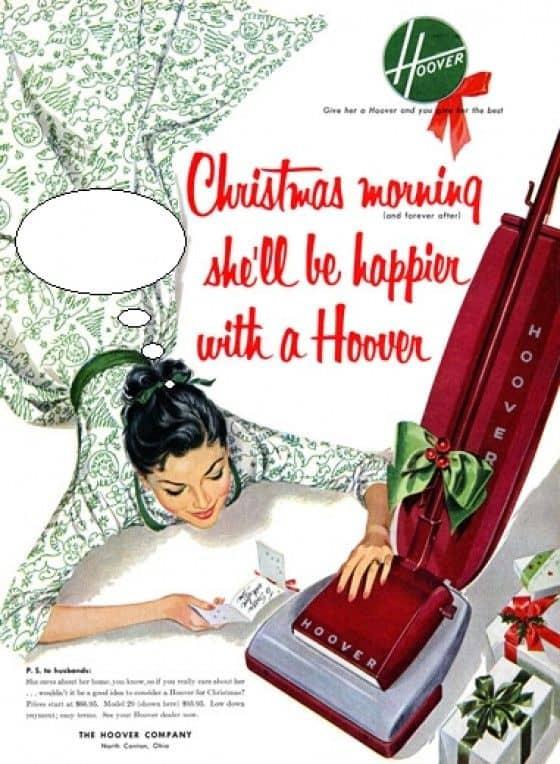 Sexist Hoover Vacuum Ad