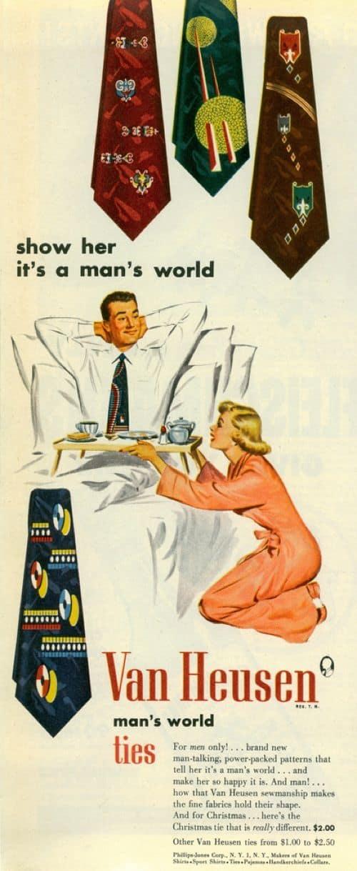 Sexist Mans World Ad