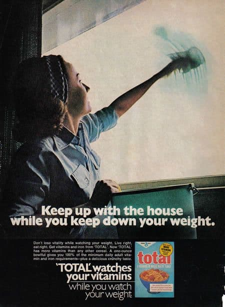 Sexist Total Cereal Ad