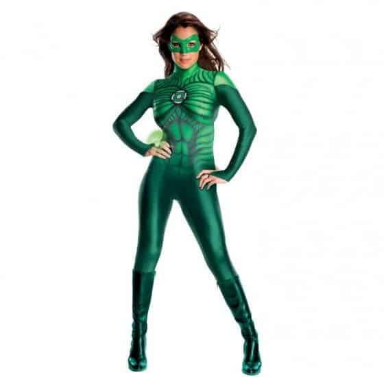 Sexy Green Lantern Womens Costume