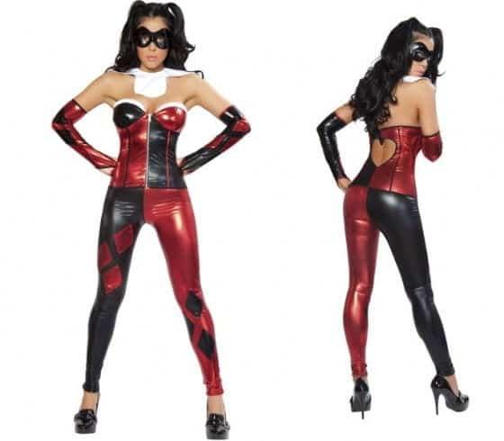 Sexy Jester Womens Costume Batman