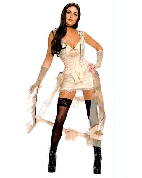 Sexy Jonah Hex Leila  White Costume