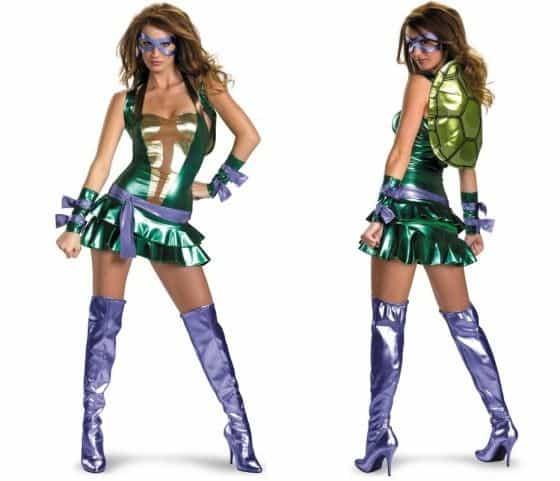 Sexy Donatello womens Costume