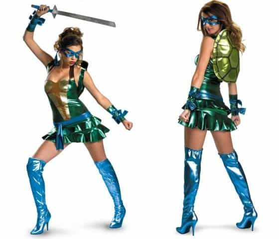 Sexy Leonardo Womens Costume