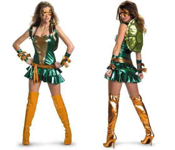 Sexy Michelangelo Womens Costume