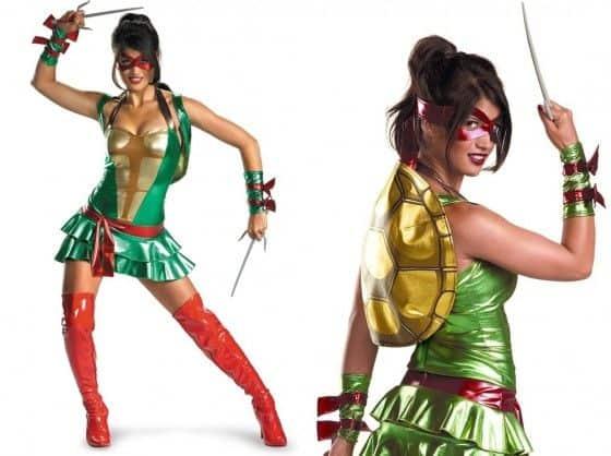 Sexy Raphael womens Costume