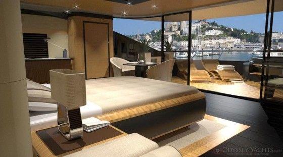 Luxury Interior of Yacht