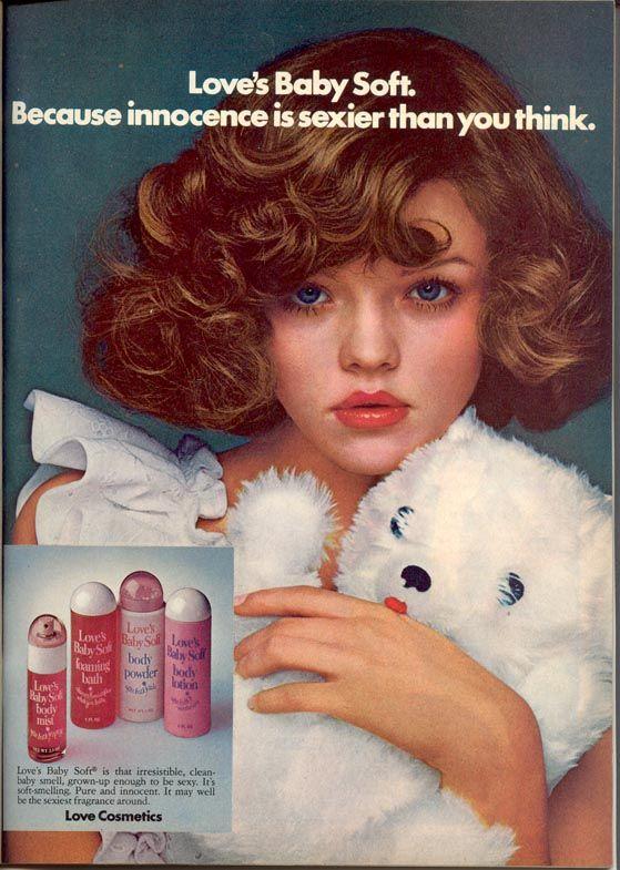 Vintage Love Cosmetics Ad
