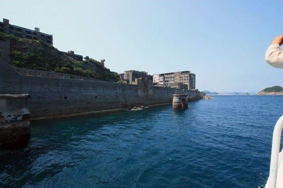 Battleship Island from offshore