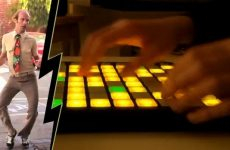 Pop Culture by Madeon on Novation Launchpad with man dancing