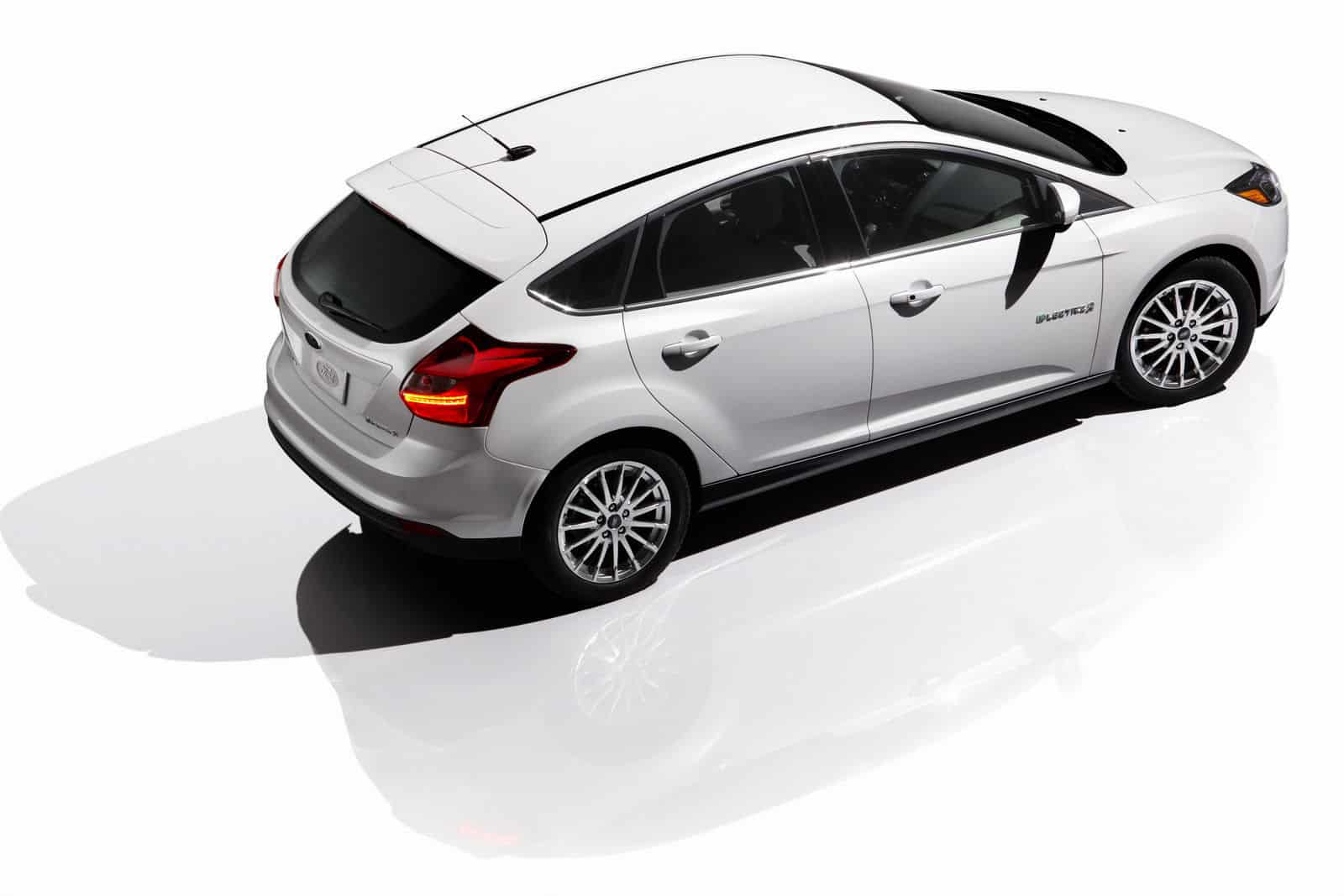 2012 Ford Focus EV Top View