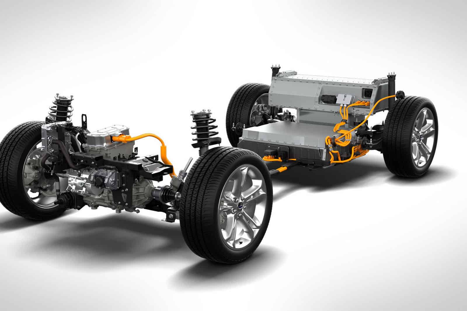 Focus Electric Chassis and Engine picture