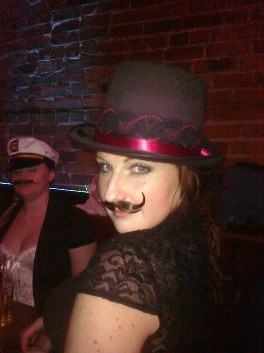 unfinished man author gina mustache movember girls