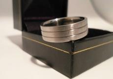 Mens Titanium Ring from Titanium-Buzz.com