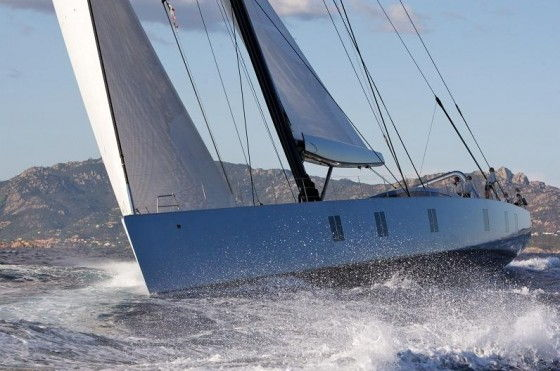 Luxury Sailboat on the water