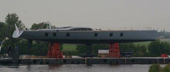Carbon Fiber Yacht Sarissa