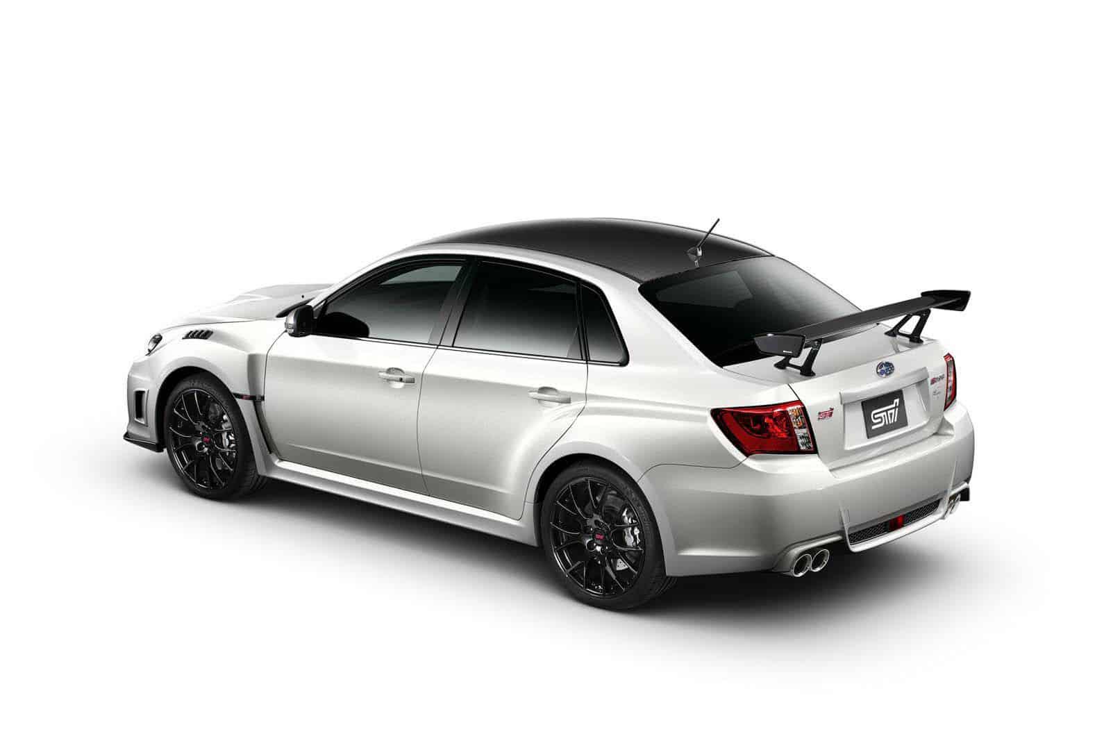 Subaru Impreza WRX STi S206 NBR Challenge Rear