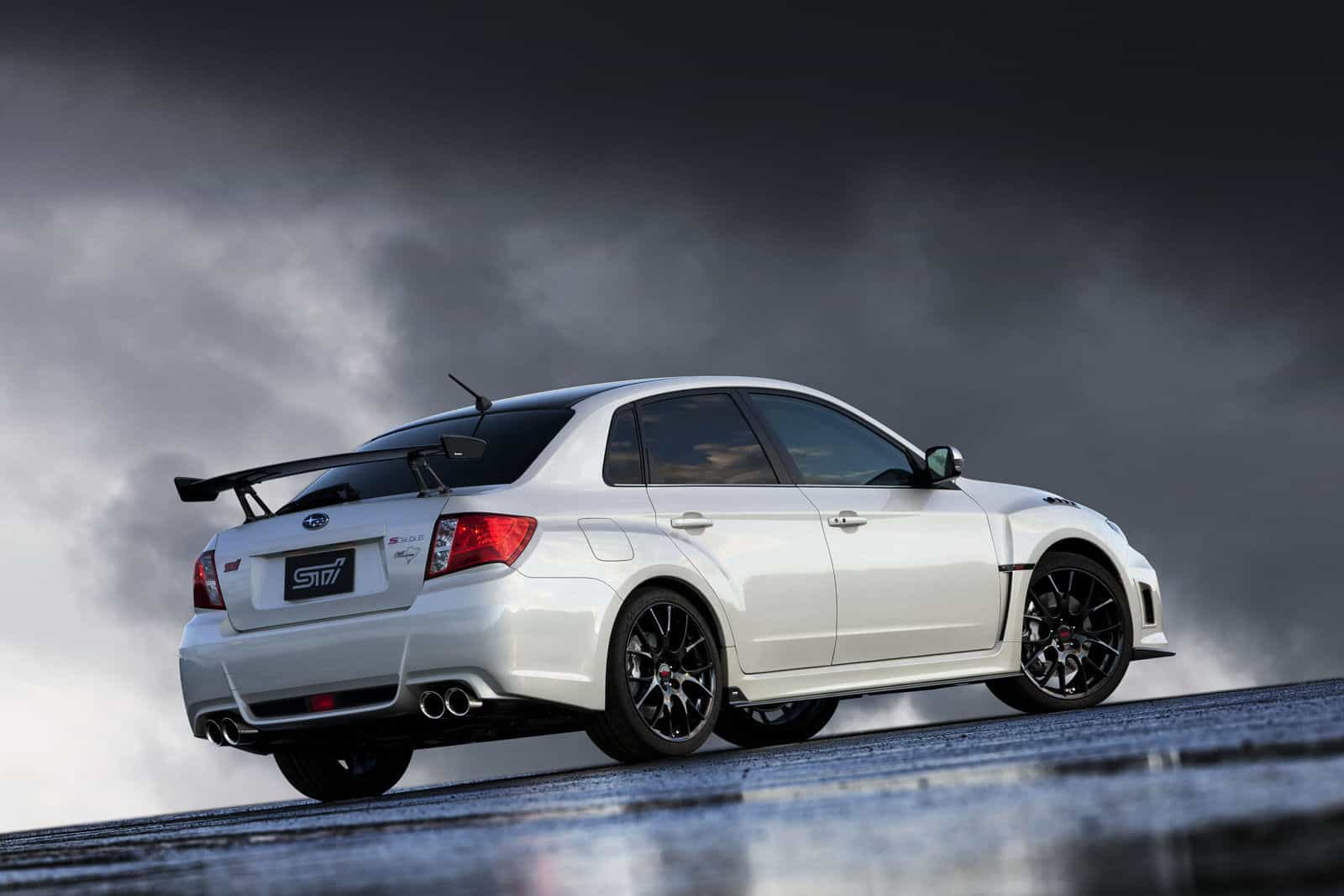 Subaru Impreza WRX STi S206 NBR Challenge Back