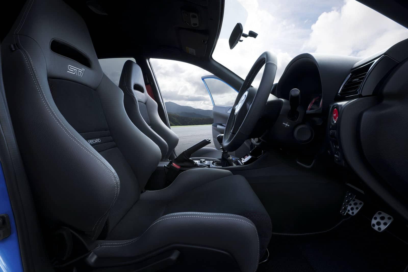 Subaru Impreza WRX STi S206 Interior