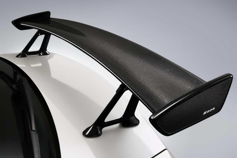 Subaru Impreza WRX STi S206 NBR Challenge Carbon Spoiler